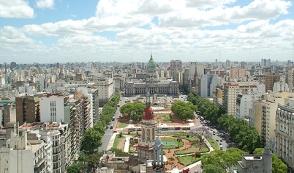 Oude centrum van Buenos Aires
