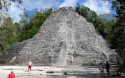 Nohoch Mul, Maya tempel in de stad Cobá