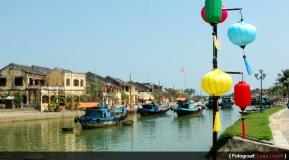 Karakteristiek voor Hoi An: De kanalen, bootjes en de lampions aan het begin van de herfst