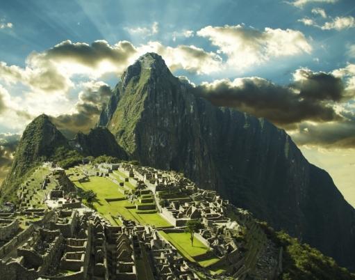 Machu Picchu. Een magische stad, hoog in de bergen van Peru