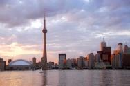 De skyline van Toronto