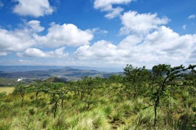 Mooi Landschap in Hell's Gate National Park, Kenia